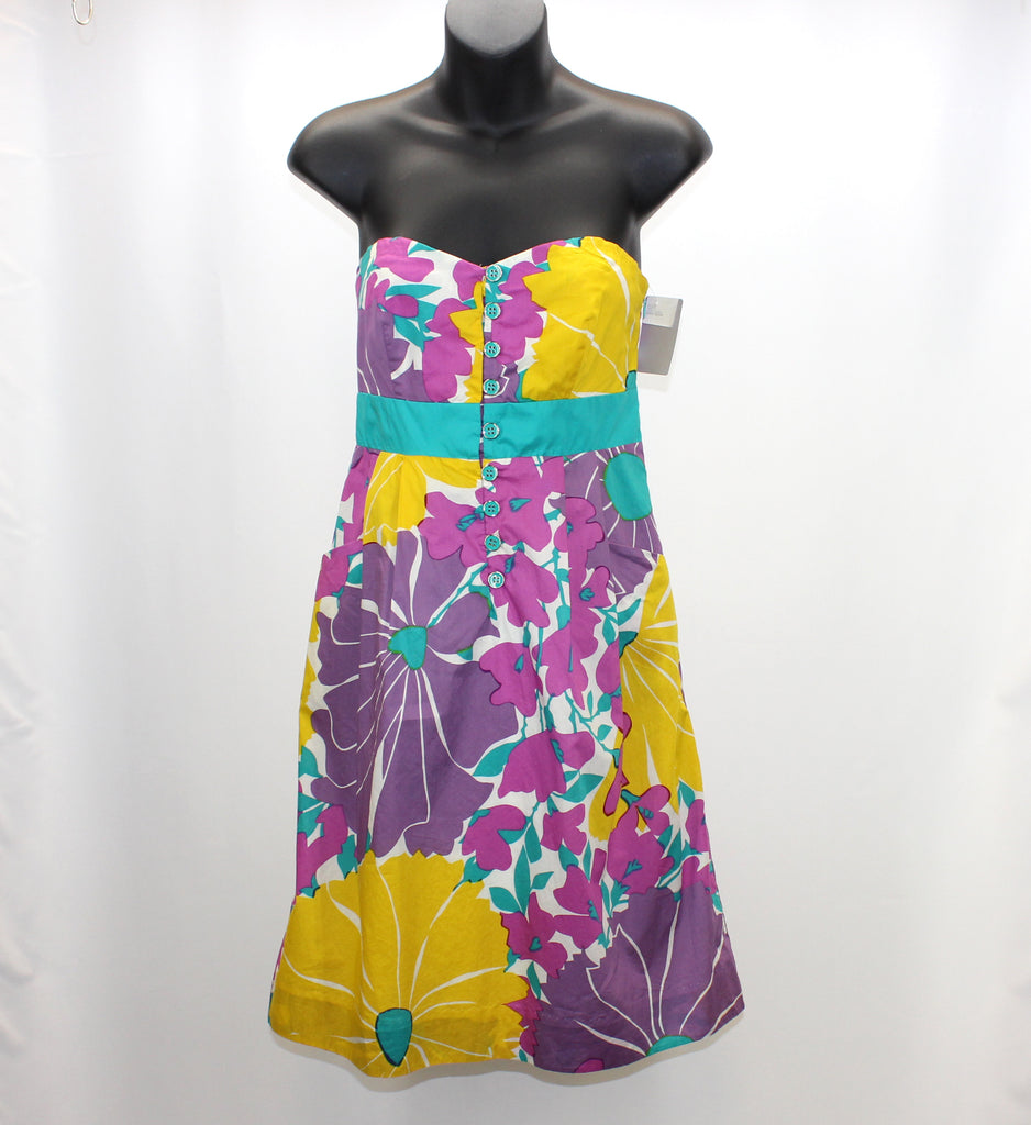 We Heart Vera Anthropologie Floral Sun Dress Size 4 - Around Again Inc