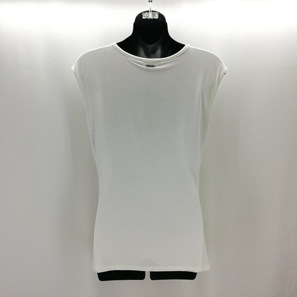 White House Black Market White Shirred Top Size Small,Tops,White House Black Market,Around Again Inc