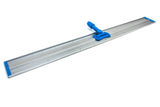 "48"" Aluminum Flat Mop Head - Two Velcro Strips"