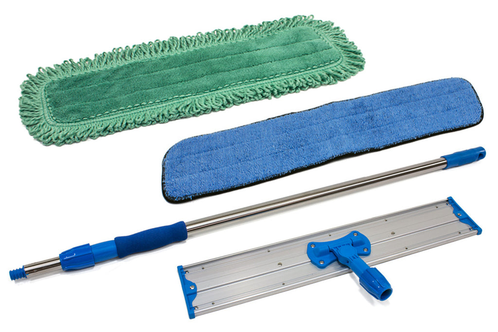 "24"" Commercial Mop Starter Kit (includes a Wet Pad and Dust Pad)"