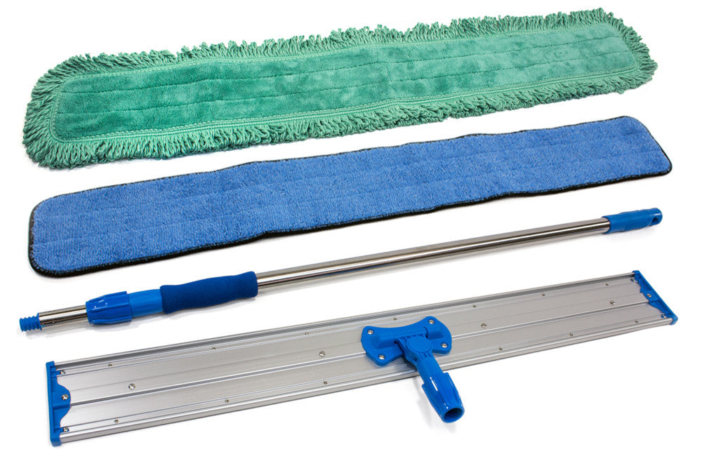 "48"" Commercial Mop Kit - Large Space Mop"