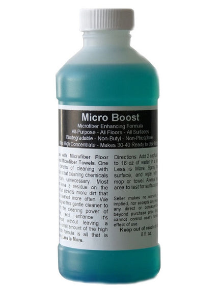 Micro Boost All Surface Floor Cleaner - Super Concentrate - 8 oz.