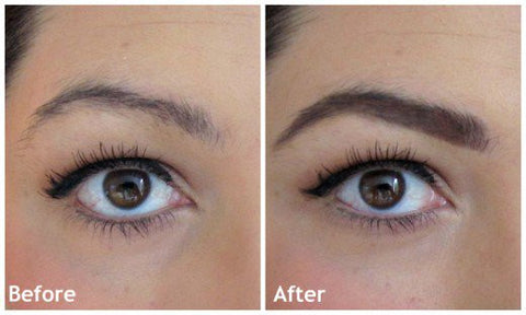 Take The Eyebrow Sponge Out Press On Powder Move Around To Ensure That Seal Evenly Stained With