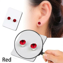 Stylish Weight Loss Stud Earrings Red