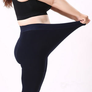 Fall Winter Leggings Stretched