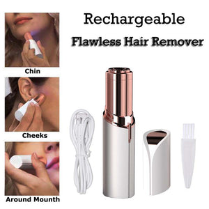 Flawless Women's Painless Hair Remover (w/Rechargeable USB Battery)