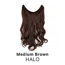 3x Invisible Halo Hair Extensions