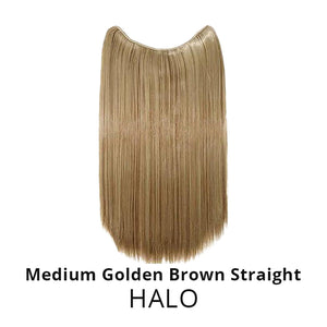 Invisible Halo Hair Extensions