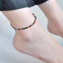 Stylish Magnetic Weight Loss Anklet On Ankle