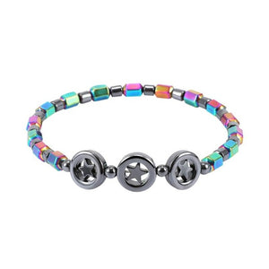 Stylish Magnetic Weight Loss Anklet Style 4 Charms