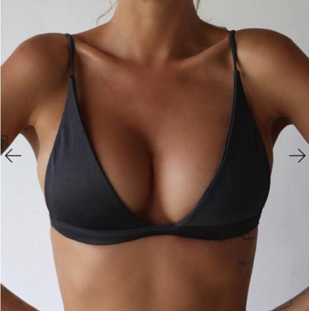 Push up bikini top