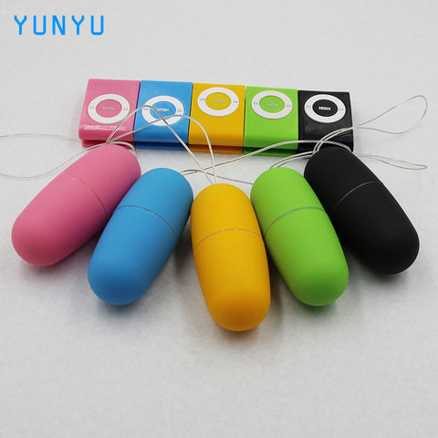 Remote Control Women Vibrating Egg Wireless Waterproof MP3 Style Vibrator