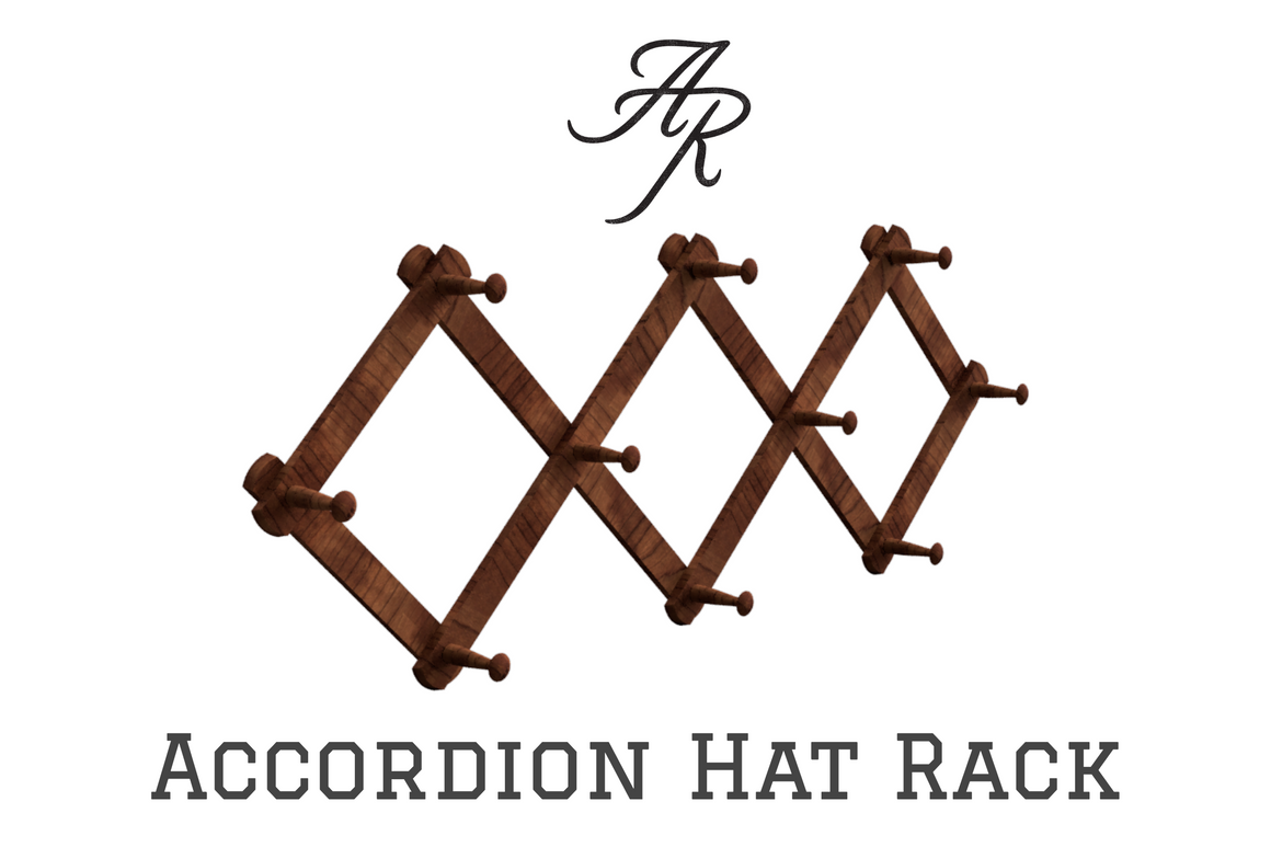 Accordion Hat Rack