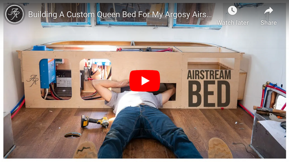 Airstream/Argosy Queen Bed