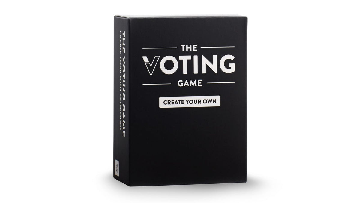 The Voting Game Create Your Own Expansion