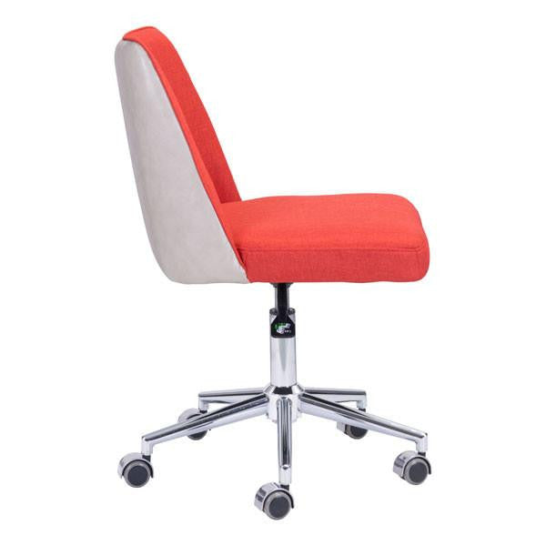 Occasion Orange/Beige Office Chair , EMFURN - 1