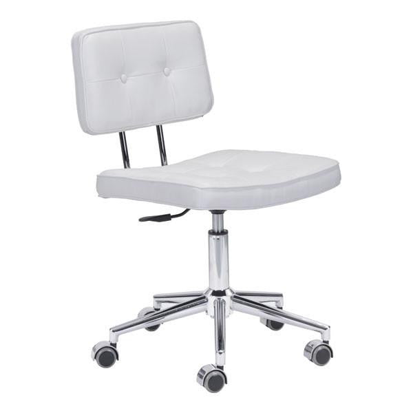 Course White Retro Office Chair , EMFURN - 1