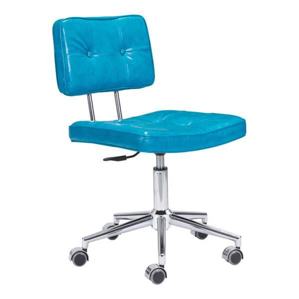 Course Blue Retro Office Chair , EMFURN - 1