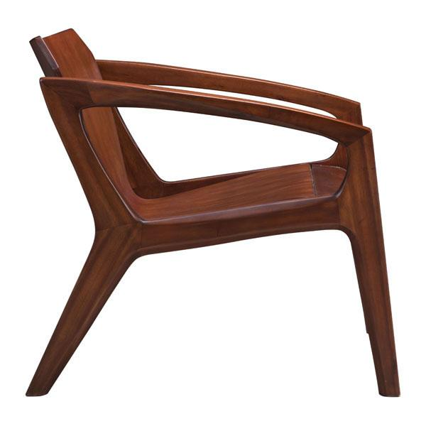 Perkin Chestnut Occasional Chair
