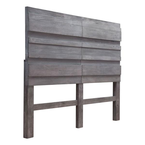 Calvin Queen Old Gray Headboard