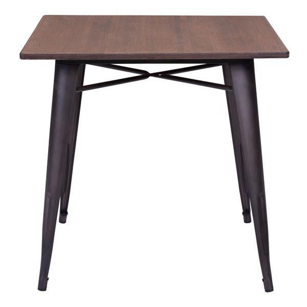 square wood dining tables. Beautiful Dining Atlas Rustic Square Wood Dining Table  EMFURN  2 For Tables