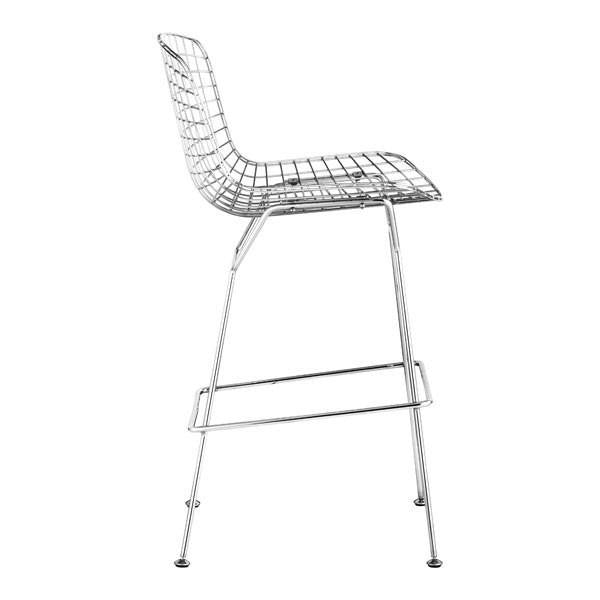 Wire Bar Chair Chrome , EMFURN - 1