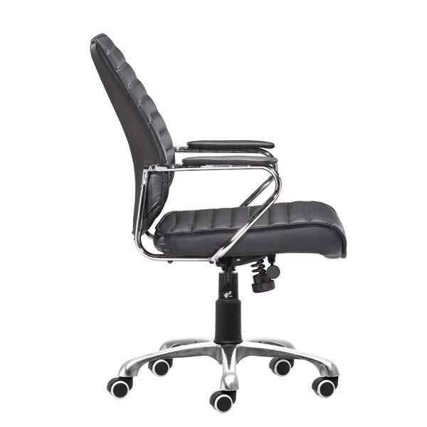 Starship Low Back Office Chair Black, EMFURN - 1