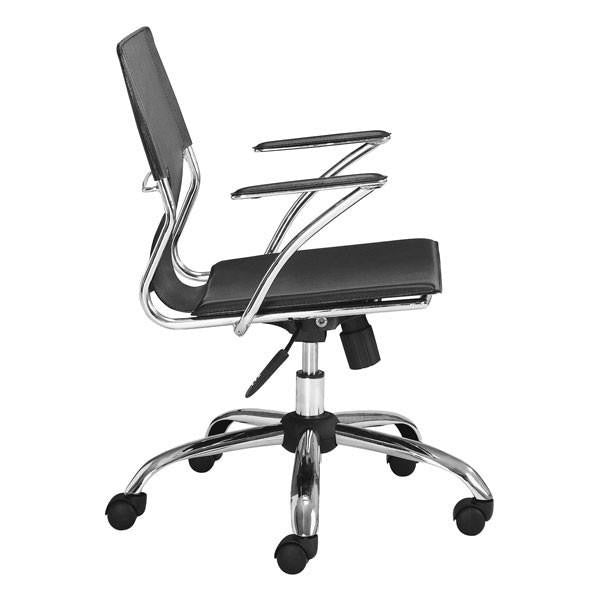 Hugo Office Chair Black, EMFURN - 5