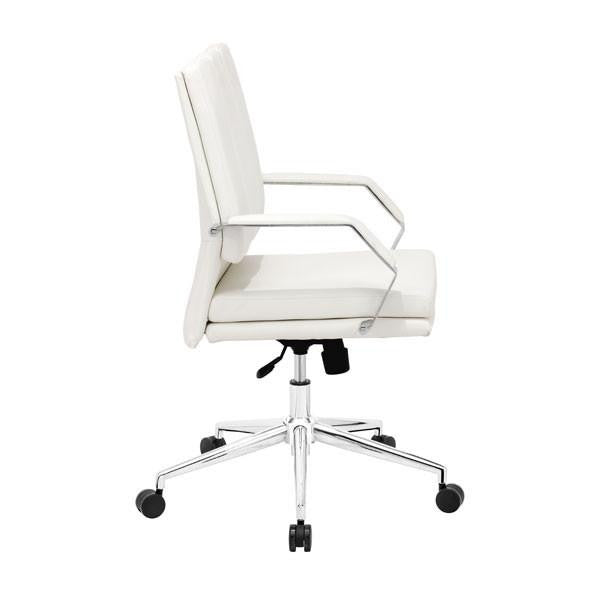 Producer Office Chair White, EMFURN - 1