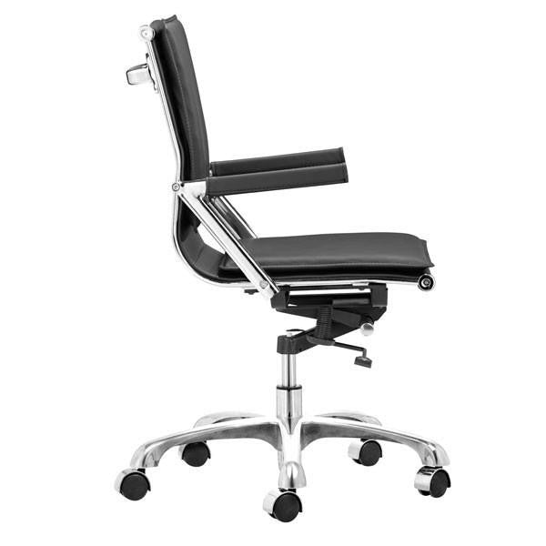 Lion Office Chair Black, EMFURN - 1