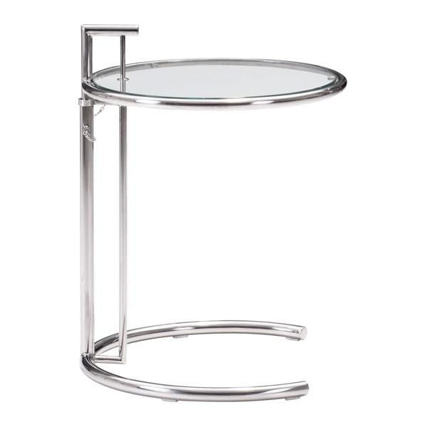 Eileen Grey Table Chrome , EMFURN - 1