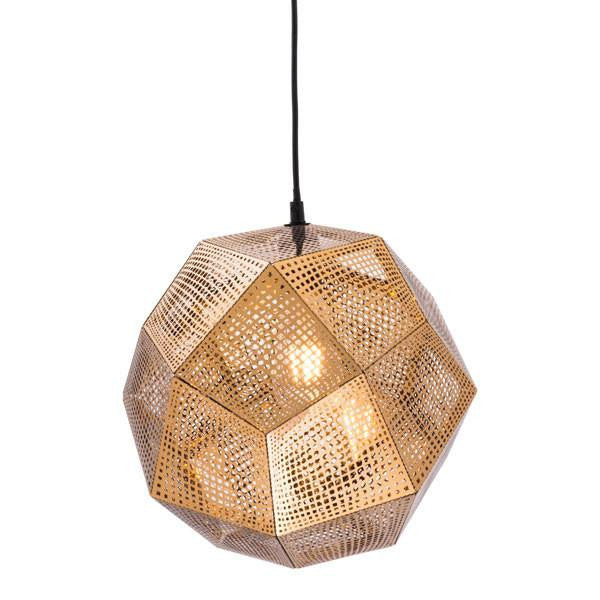 Artsy gold ceiling lamp emfurn 1