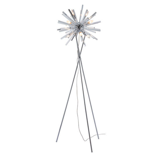 Susan Chrome Floor Lamp