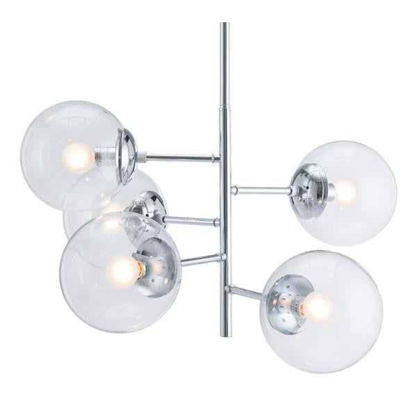 William Chrome Ceiling Lamp