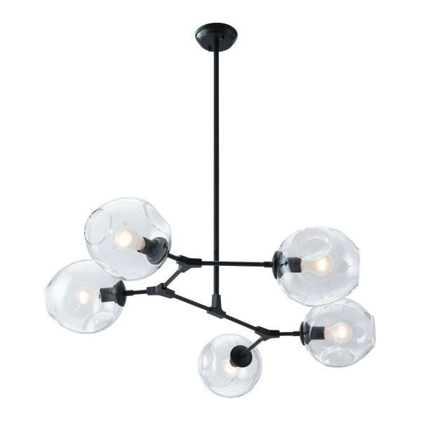 Blanche Black Ceiling Lamp