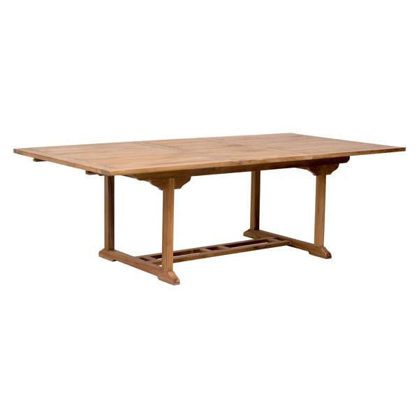 Skiff Outdoor Extension Dining Table , EMFURN - 1