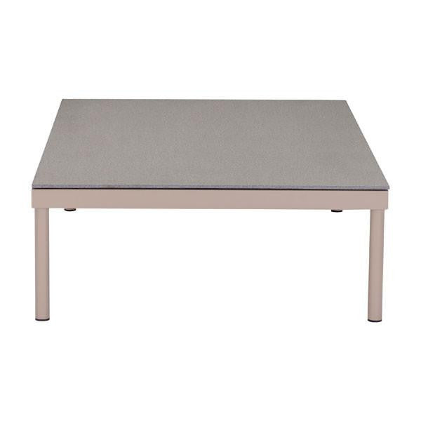 Glass Beach Coffee Table Taupe & Granite , EMFURN - 1