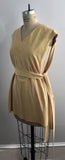 Vintage California West-Set Beige Desert Knit Two-Piece Monotone Super Chamois - Large