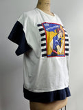Vintage 1987 Rosie the Riveter Pop Art Streetwear Shirt