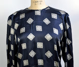 Vintage 1980s Escada by Margaretha Ley West Germany Silk Paisley Bandana Blouse