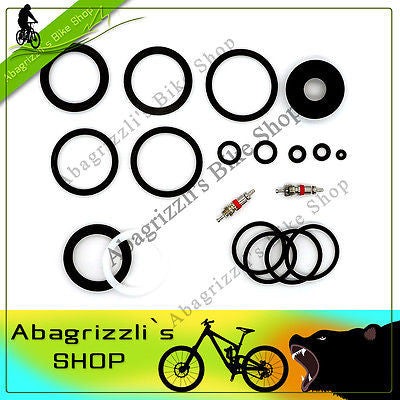 White Brothers Fluid fork 26/29 VERY IMPROVED Oil & Air O-rings kit + special U