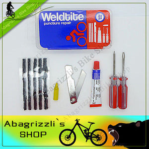 Weldtite Tubeless Outside Puncture Repair Kit for Bikes