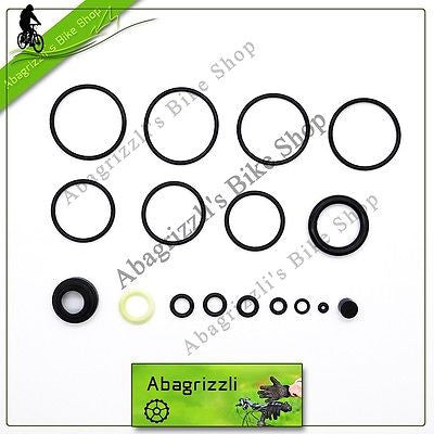 Fox Vanilla R / RC / RL Coil 3/8''Shaft IMPROVED Oil Seal Kit