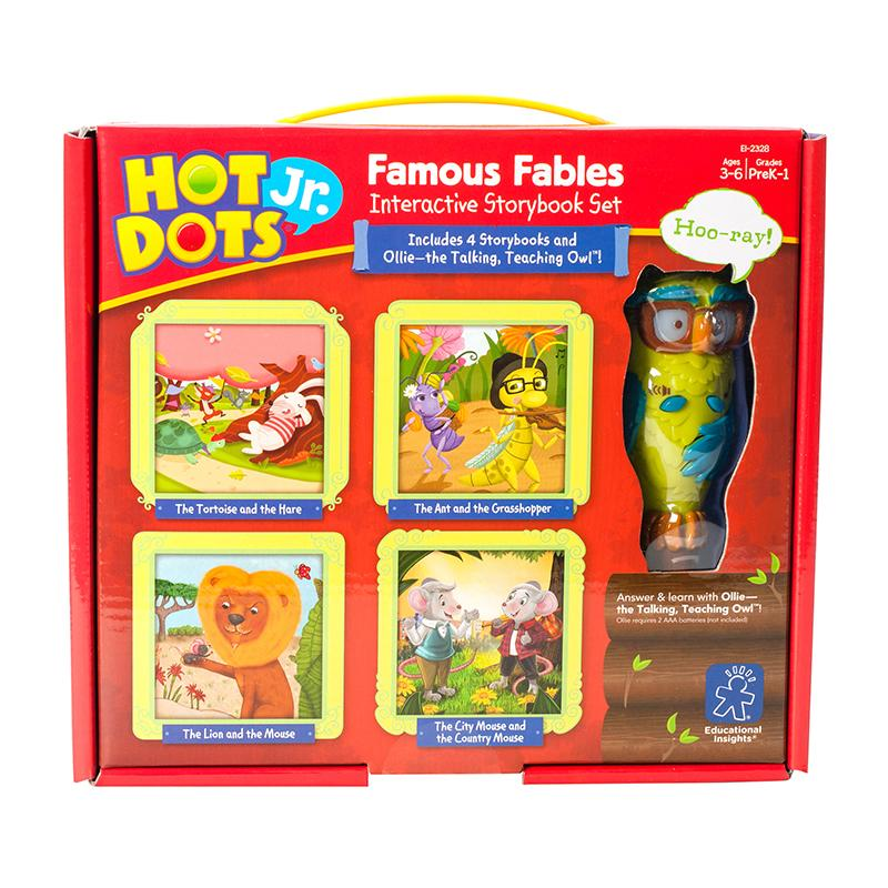 Hot Dots Jr Interactive Storybook Set Famous Fables
