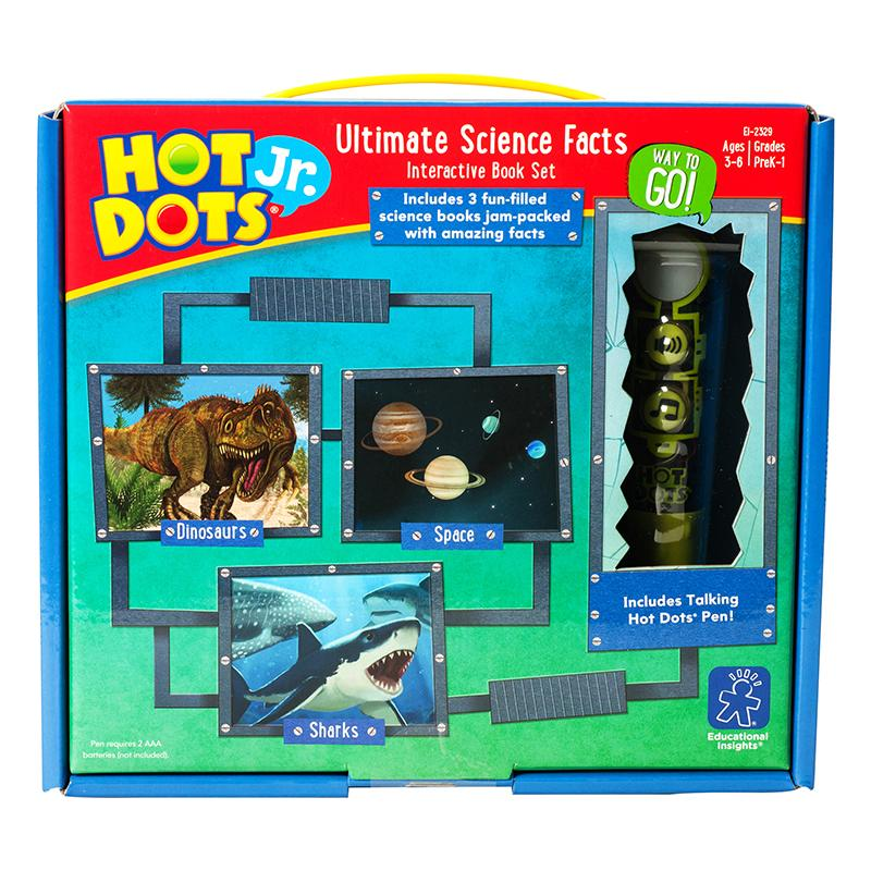 Hot Dots Jr Ultimate Science Facts Interactive Book Set With Pen
