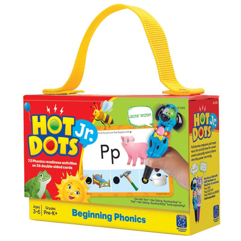Hot Dots Jr Cards Beginning Phonics