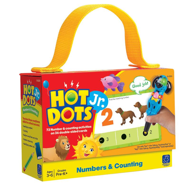 Hot Dots Jr Cards Numbers Counting