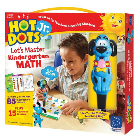 Hot Dots Jr Lets Master Math Gr K