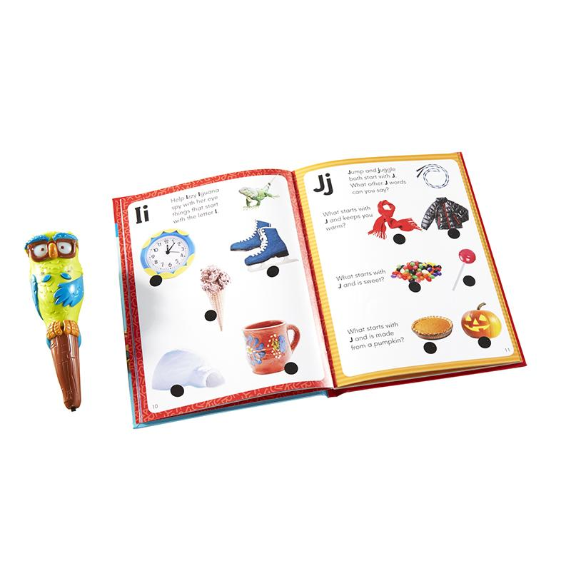 Hot Dots Jr Lets Learn The Alphabet Interactive Book & Pen