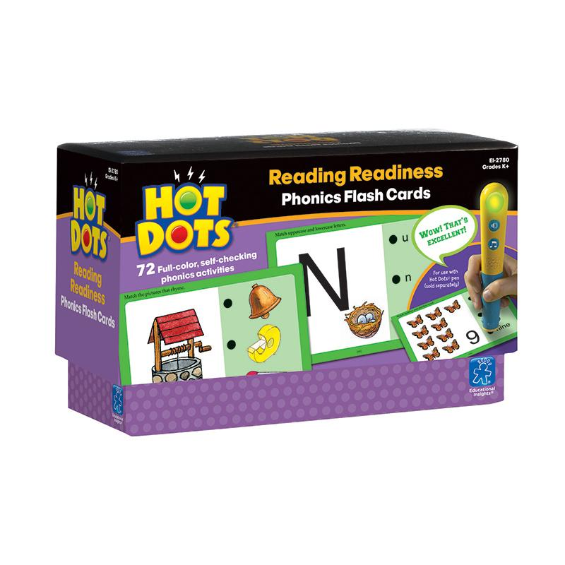 Hot Dots Phonics Program Set 1 Readiness